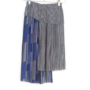 H&M Pleated Asymmetrical Skirt Size Xs